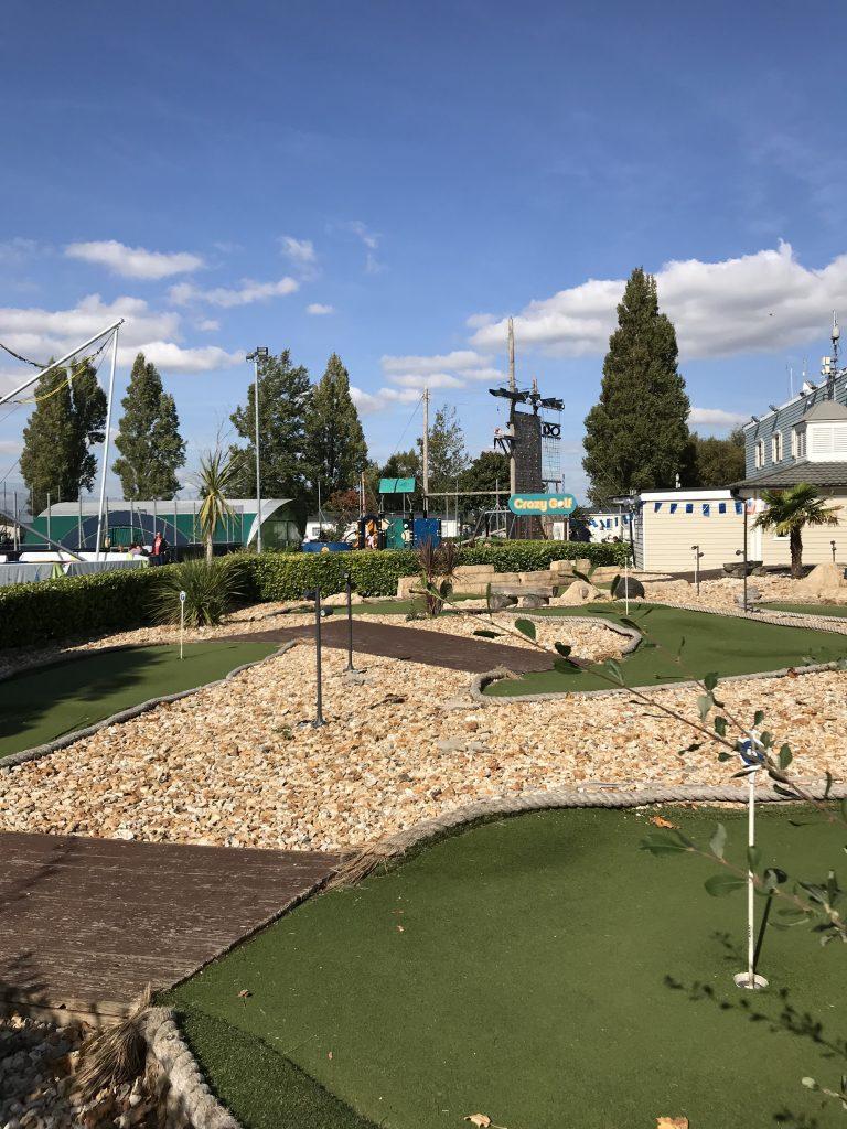 Crazy Golf at Rockley Park